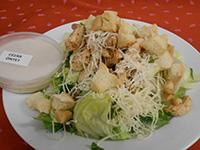 Cézár saláta csirkehússal,parmezánnal