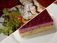 Gyros pitában sült burgonyával+Erdei gyümölcsös joghurt szel