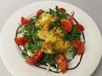 Toscan grillezett sovány sajt ruccolás,par.sal.balzsamkrém