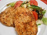 Grill maj.csirkemell balzsamos salátával