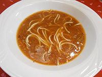 Olasz minestrone leves