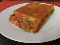 Zöldséges pulykahúsos pásztorpite (Shepherd s pie)