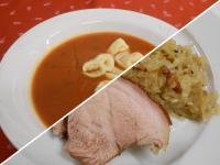 Olasz par.lev.tort+Omlós csülök bajor káp,tepsis burgonyával