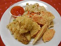 Szez.temp.sült sárgarépa,zeller sült zölds.rizzsel+é.chili