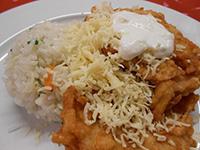 Mátrai borzas csirke zöldséges rizzsel
