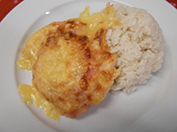 Hawaii pulykamell jázmin rizzsel